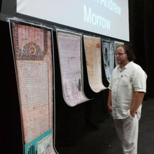 Dr. John Morrow stands by the Covenants of the Prophet